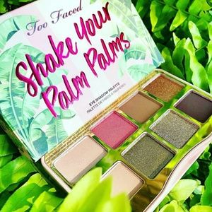 🚨Offer $25🚨Too Faced Shake Palm Palms palette